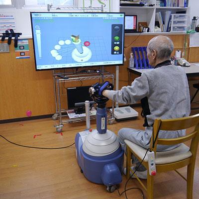 上肢用ロボット型 運動訓練装置ReoGo-J®
